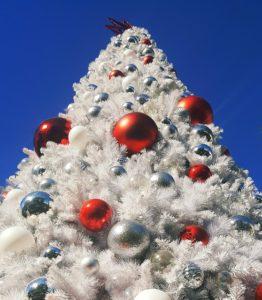 weisser weihnachtsbaum 180 cm